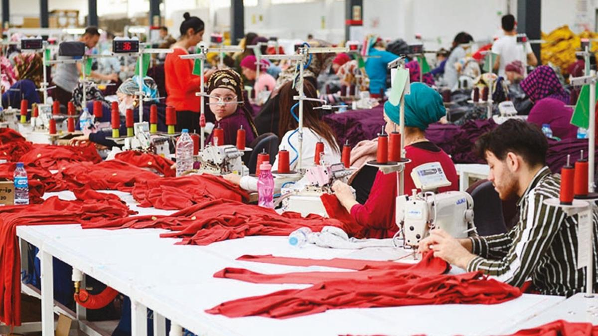 Hazır giyimcilerden 386 bin yeni istihdam