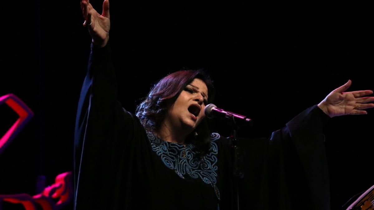 Jahida Wehbe, 18. Konya Uluslararası Mistik Müzik Festivali'nde konser verdi