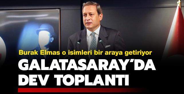 Galatasaray'da dev toplantı gerçekleşiyor