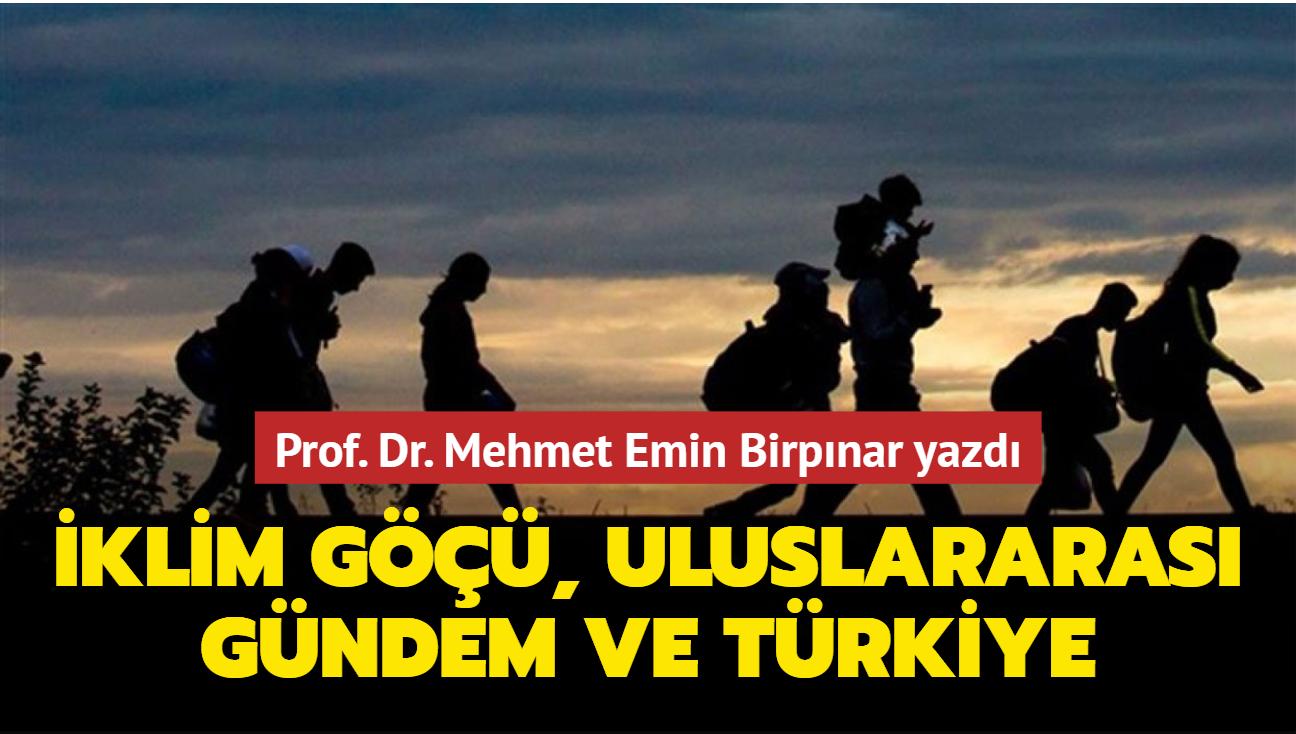 İklim göçü, uluslararası gündem ve Türkiye