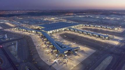 İstanbul Havalimanı, Avrupa'nın en yoğunu oldu