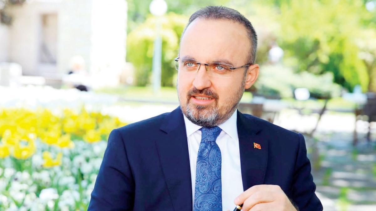 AK Partili Bülent Turan: Akşener HDP'nin önünü açıyor