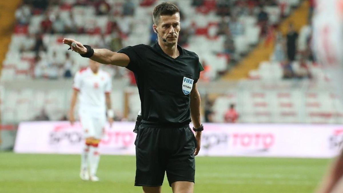 Beşiktaş'ın Avrupa maçına Fransız hakem