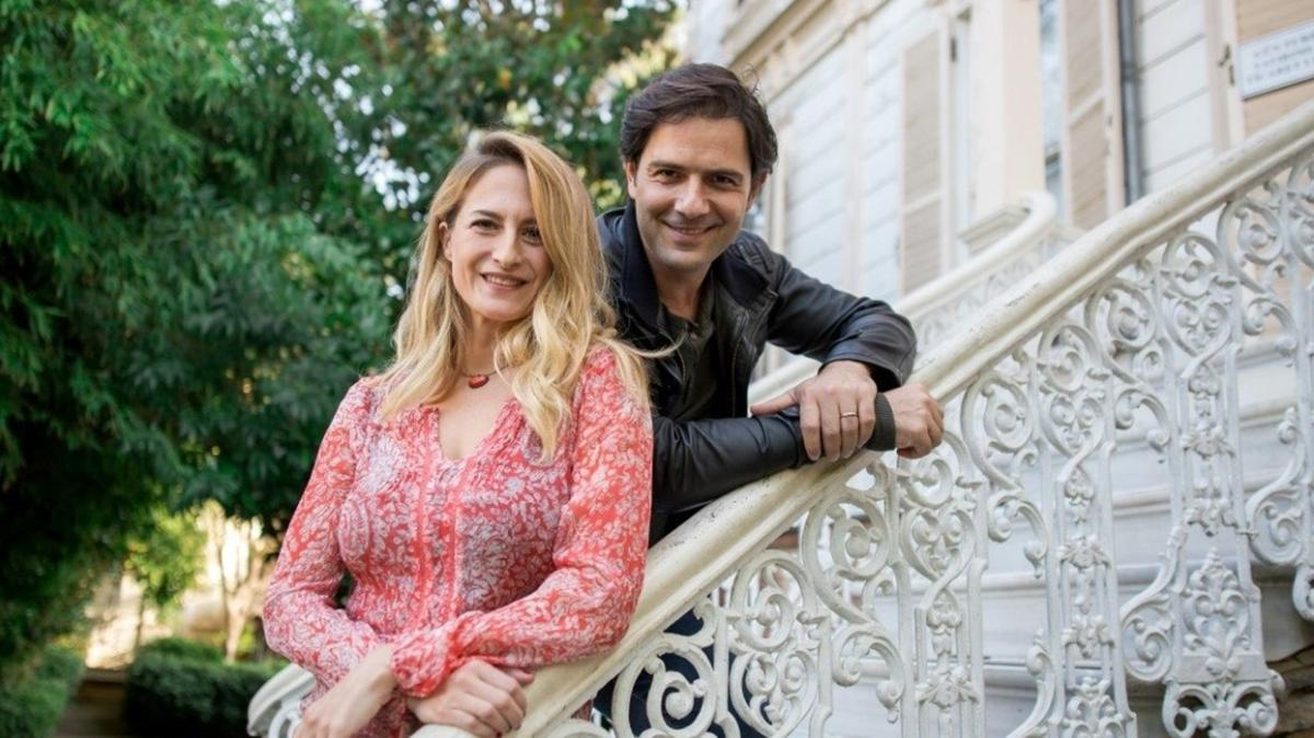 Canan Ergüder'den eşi Kenan Ece ile pazar pozu