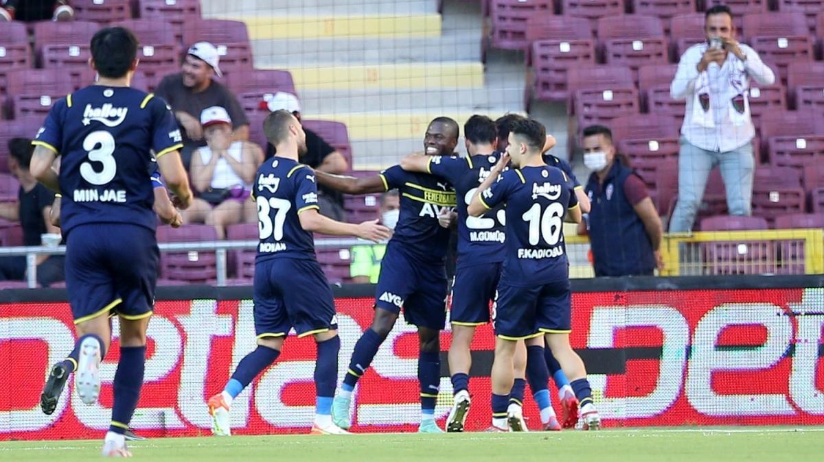 Fenerbahçe lider döndü! Maç sonucu: Atakaş Hatayspor 1-2 Fenerbahçe