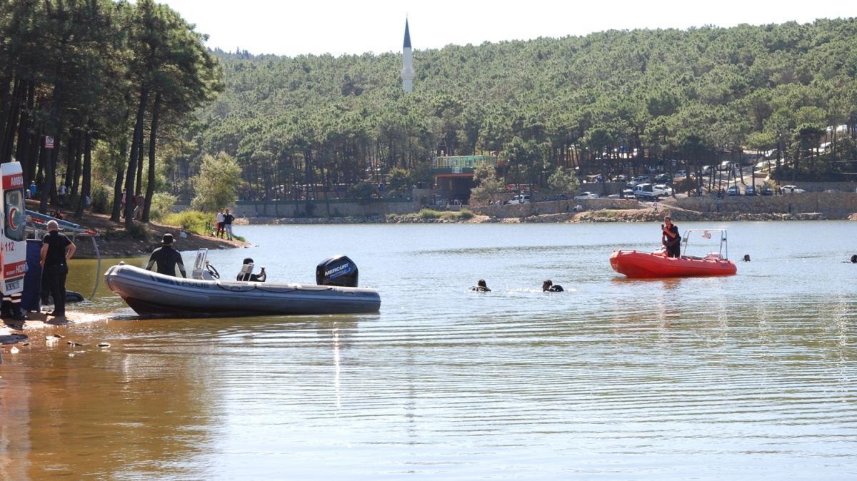 Sancaktepe'deki Aydos Göleti'nde kaybolan kişinin cesedine ulaşıldı