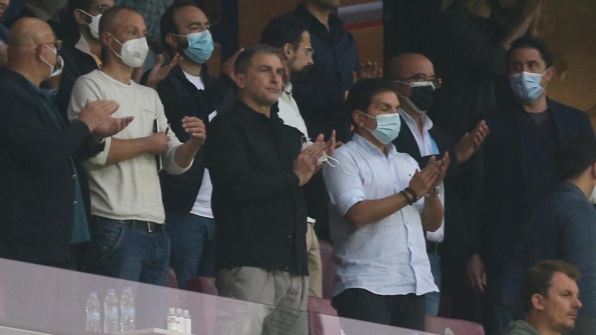 Stefan Kuntz Galatasaray-Göztepe maçında