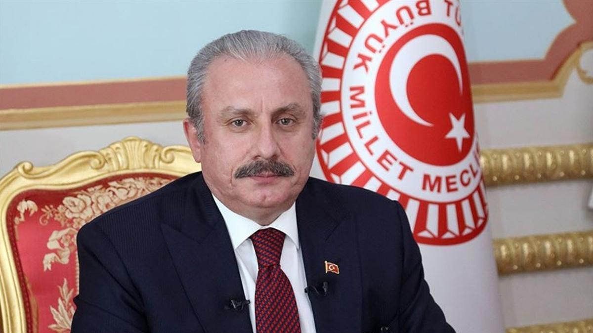 TBMM Başkanı Şentop Kazakistan'a gitti