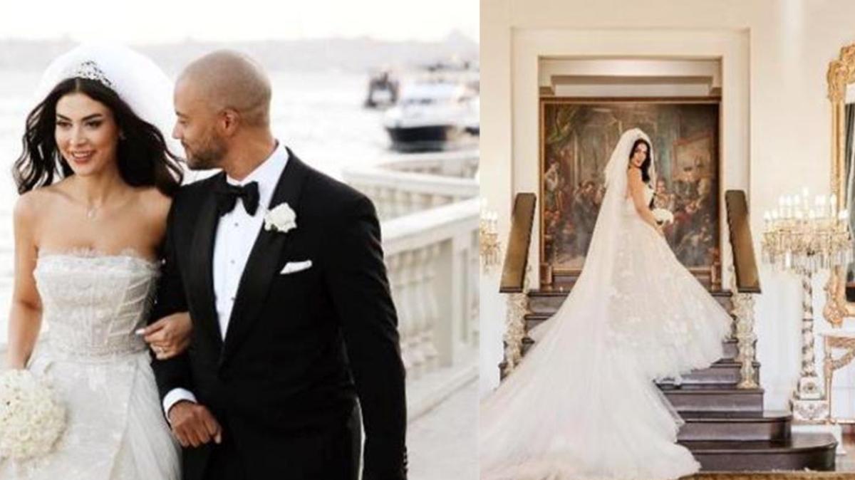 Türkücü Günseli Deniz, Amerikalı nişanlısıyla evlendi