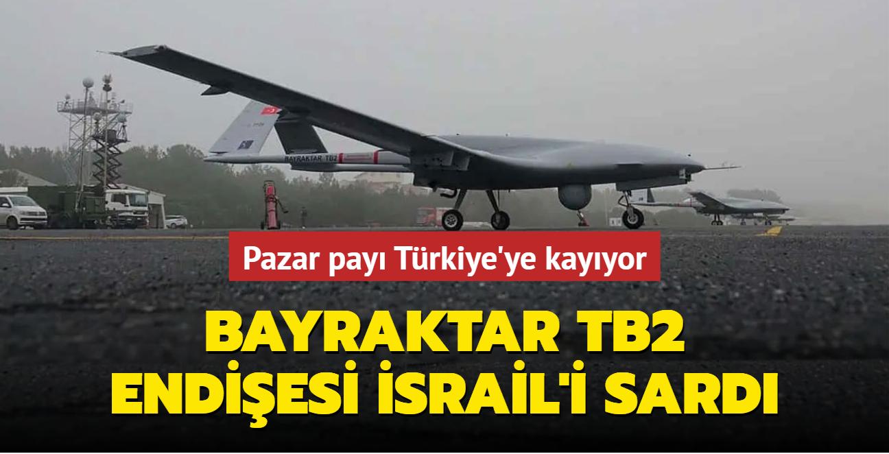 Pazar payı Türkiye'ye kayıyor... İsrail'de Bayraktar TB2 endişesi