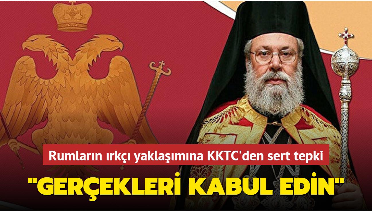 """""""Türkler ve Rumlar aynı haklara sahip olamaz"""" diyen Başpiskoposa KKTC'den sert tepki"""