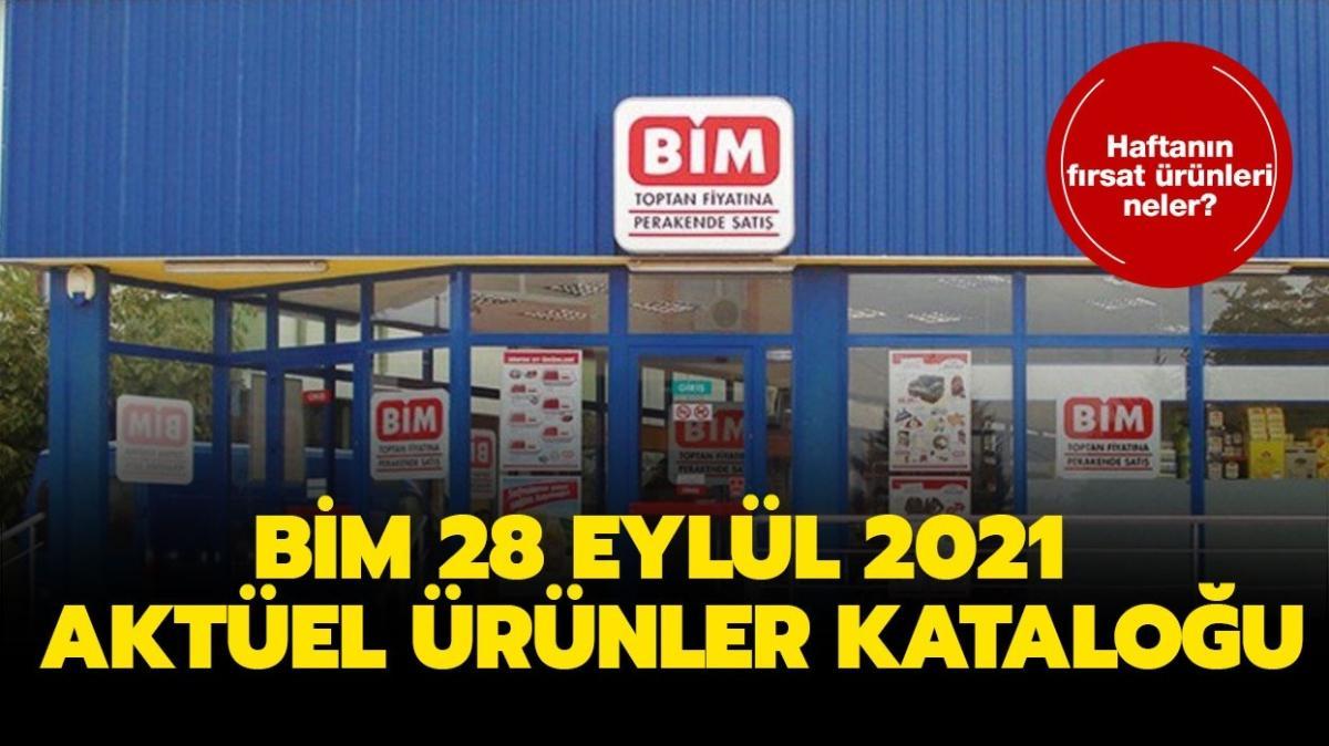 """BİM 28 Eylül 2021 aktüel ürünler kataloğu yine dopdolu! BİM'e bugün neler geliyor"""""""
