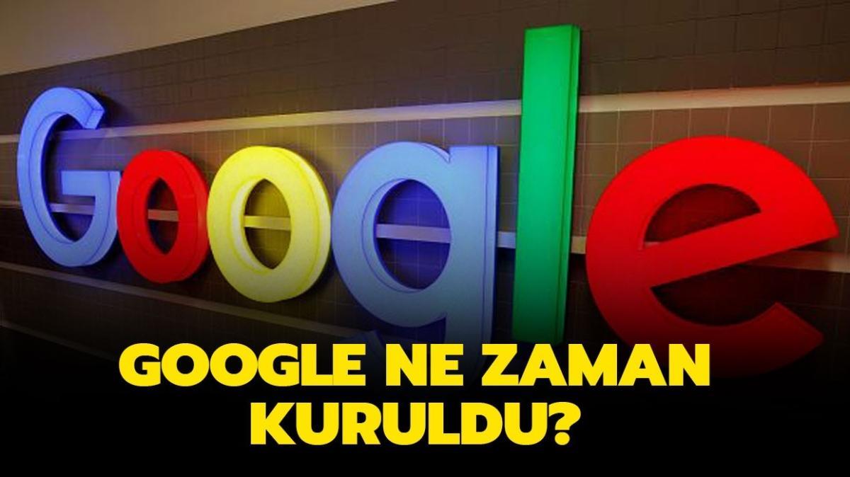 """Google 23. yaş gününü doodle ile kutluyor! Google ne zaman, kim tarafından ve ilk nerede kuruldu"""""""
