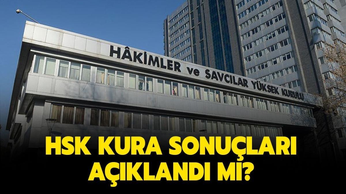 """Hakim savcı kura sonuçları isim listesi açıklandı mı"""" HSK kura töreni canlı yayını izleme sayfası!"""