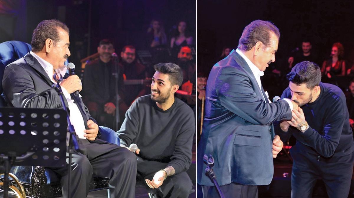 İbrahim Tatlıses oğlu İdo Tatlıses ile final yaptı! Baba-oğulun 'Deryalım' şarkısına büyük alkış