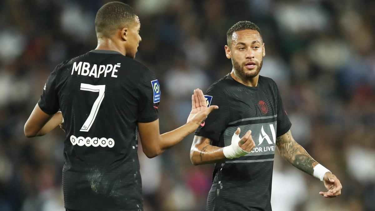 Mbappe ile Neymar arasında pas vermeme gerilimi