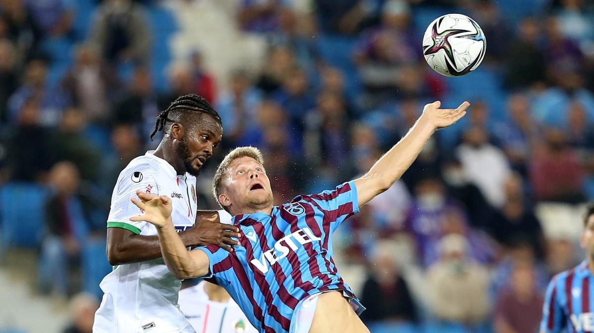 Müthiş maçta kazanan yok! Maç sonucu: Trabzonspor 1-1 Aytemiz Alanyaspor