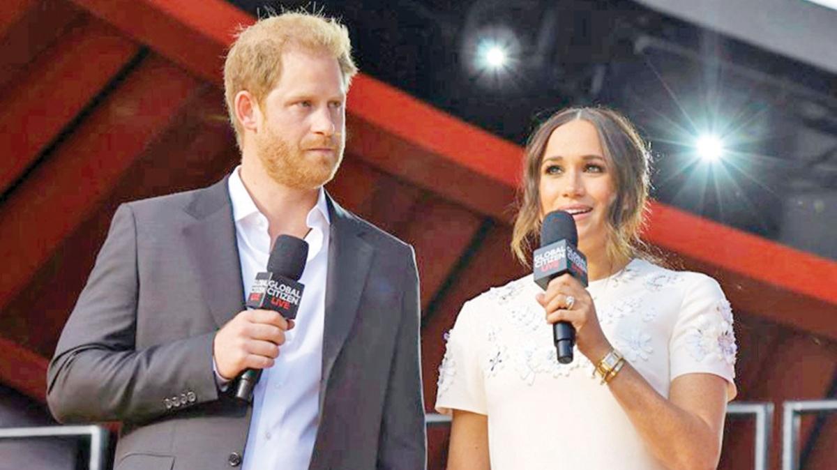 Prens Harry ve Meghan Markle 'Eşitlik festivali'nde dalga konusu oldu