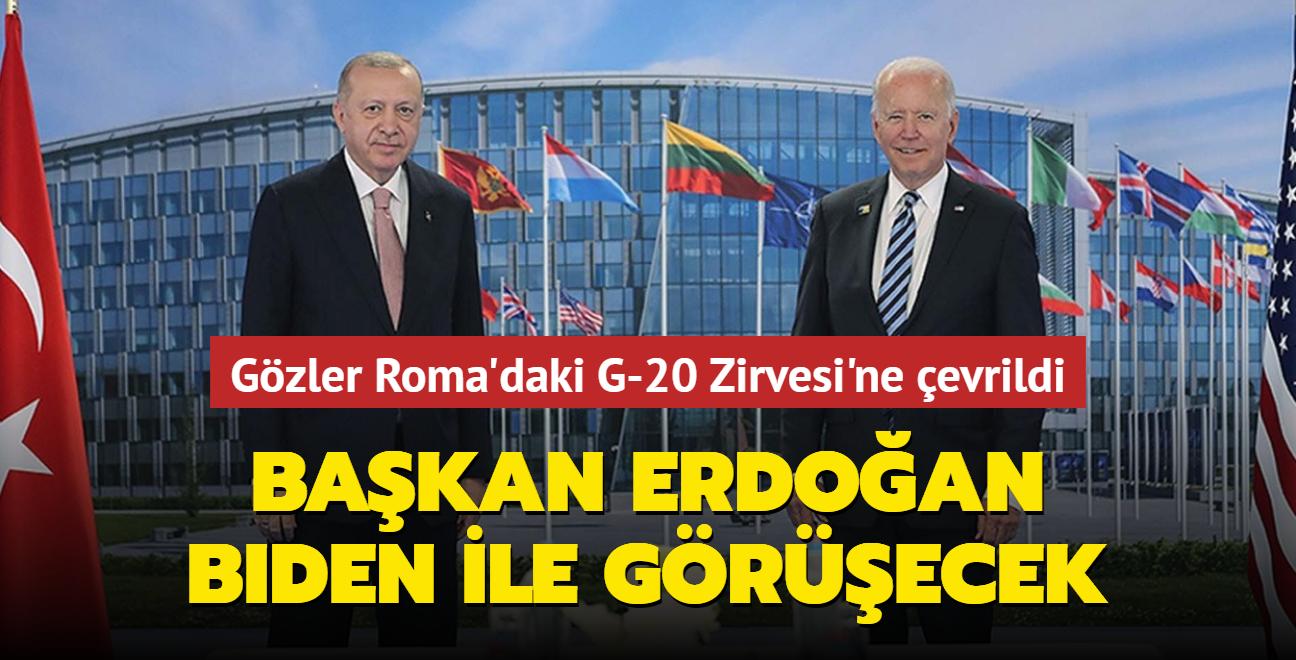 Başkan Erdoğan ABD Başkanı Biden ile görüşecek
