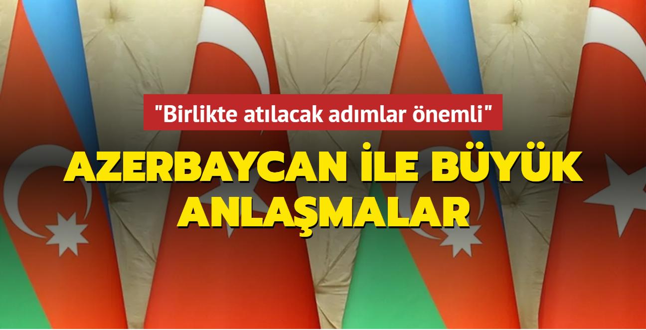 'Birlikte atılacak adımlar önemli'... Türkiye ile Azerbaycan'dan 4 büyük anlaşma
