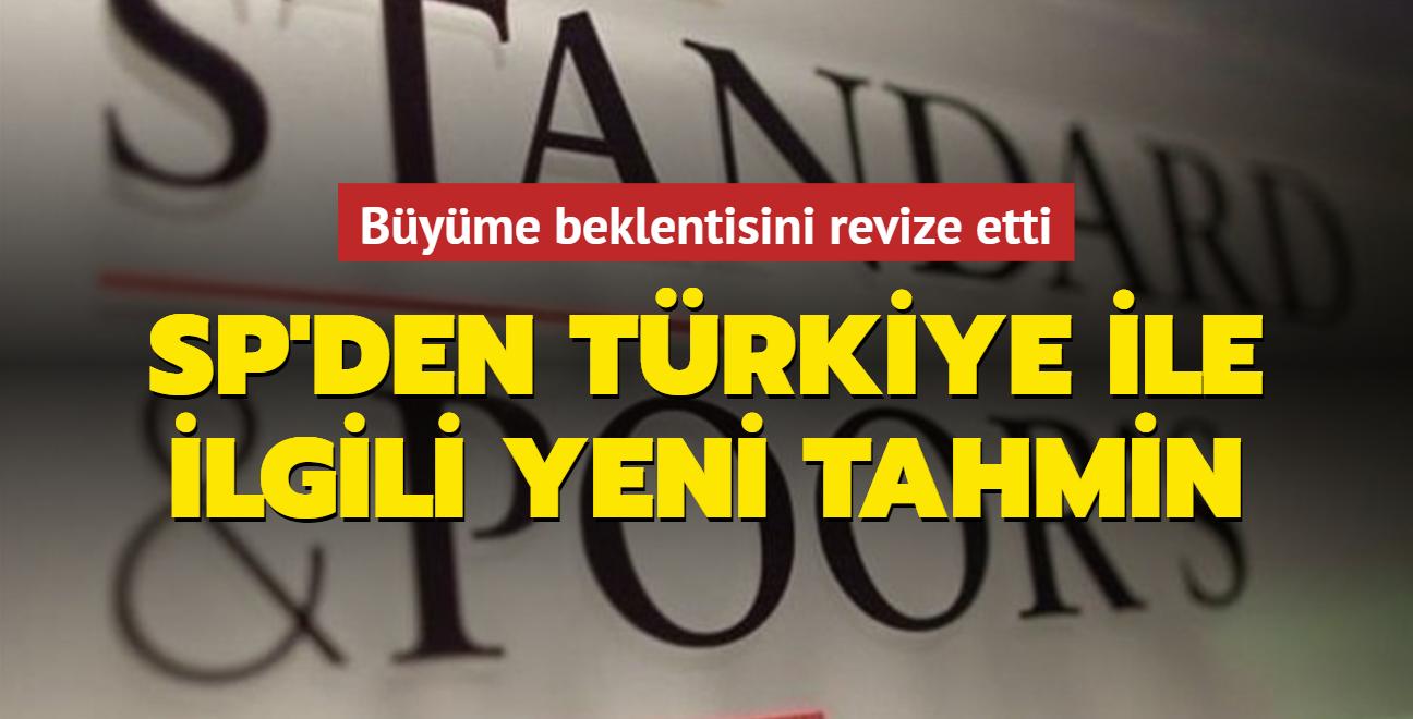 Standard & Poor's'tan Türkiye ile ilgili yeni büyüme tahmini