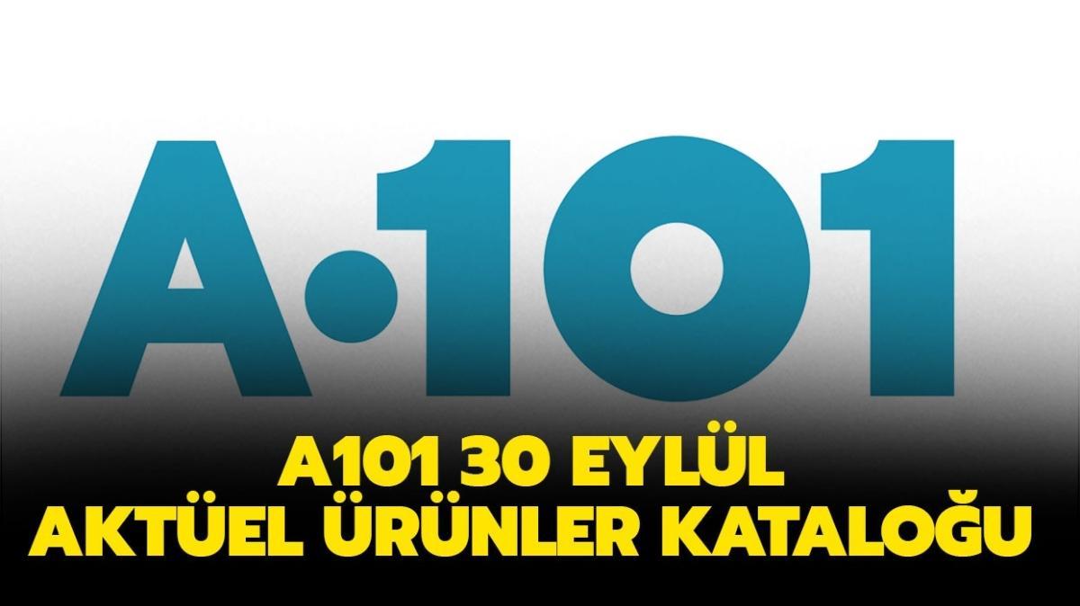 """A101 30 Eylül Perşembe aktüel ürünler kataloğu yayınlandı! A101'e bu hafta neler gelecek"""""""