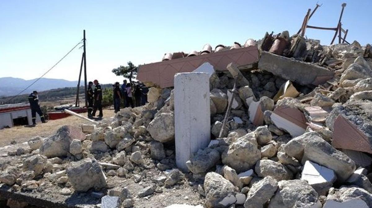 AFAD: Yunanistan'ın Girit Adası'nda 5 büyüklüğünde deprem meydana geldi