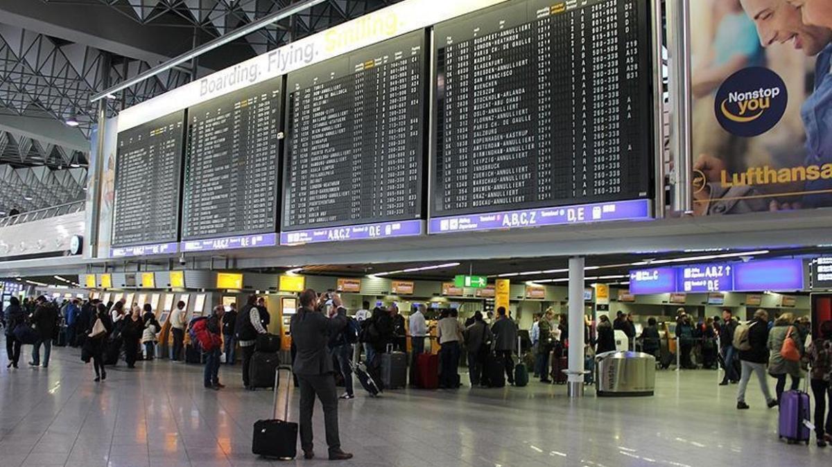 Almanya Havalimanları Birliği açıkladı: 1,5 milyar avroluk zarar