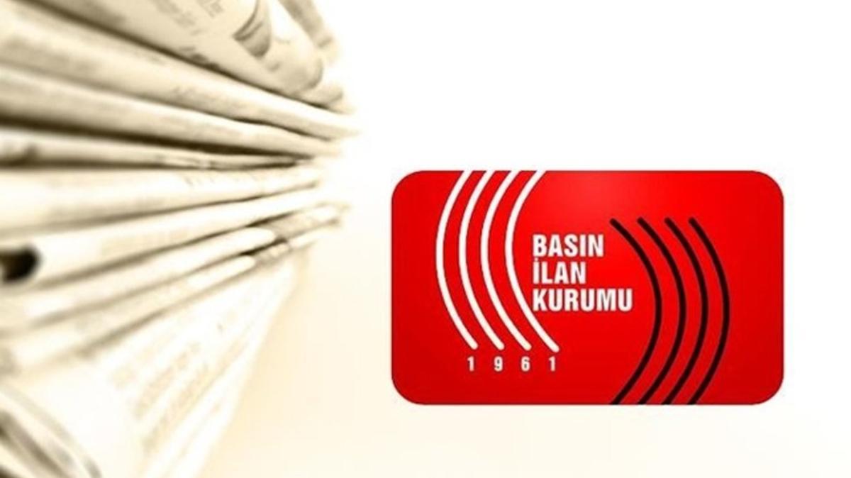Basın İlan Kurumundan Sözcü ve Birgün gazetesi açıklaması