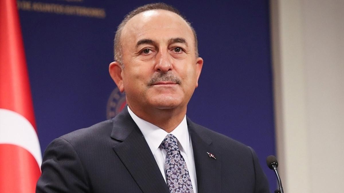 Dışişleri Bakanı Çavuşoğlu Lübnan'ın yeni Dışişleri Bakanı ile görüştü