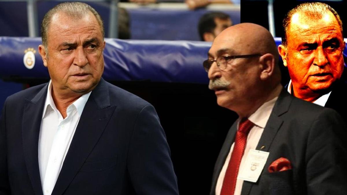 Galatasaray Teknik Direktörü Fatih Terim'den Osman Tanburacı'ya 50 bin TL'lik dava