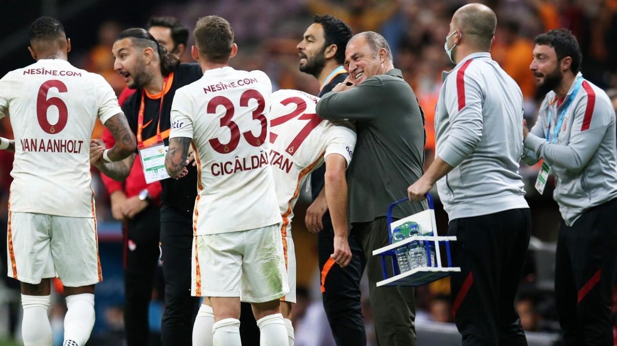 Galatasaray'da galibiyeti getiren konuşma belli oldu