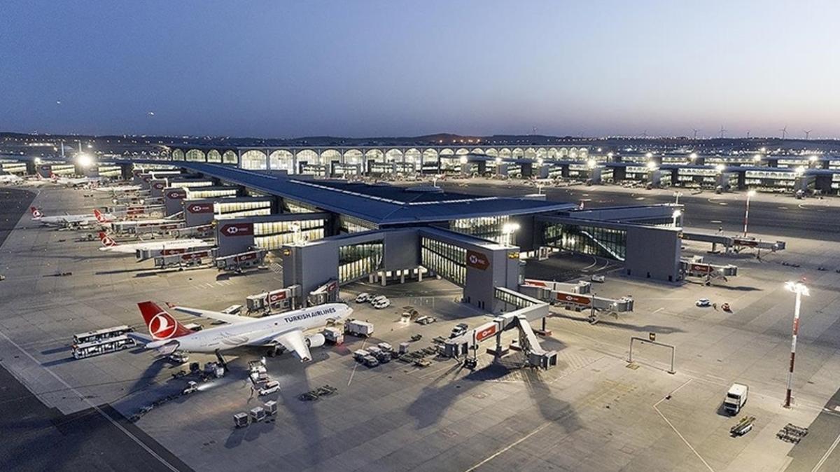 İstanbul Havalimanı 100 milyon yolcu ağırladı