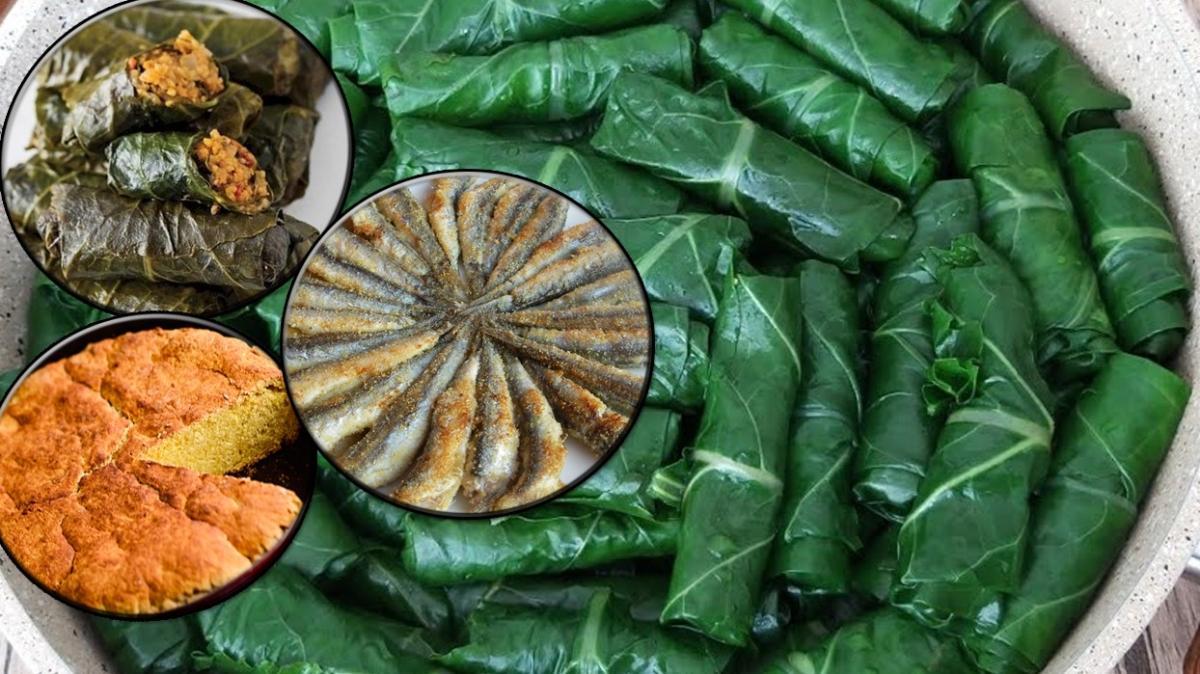 En çok sevilen Karadeniz yemekleri tarifleri! Karalahana sarması, mısır ekmeği, hamsi tava, Akçaabat köftesi...