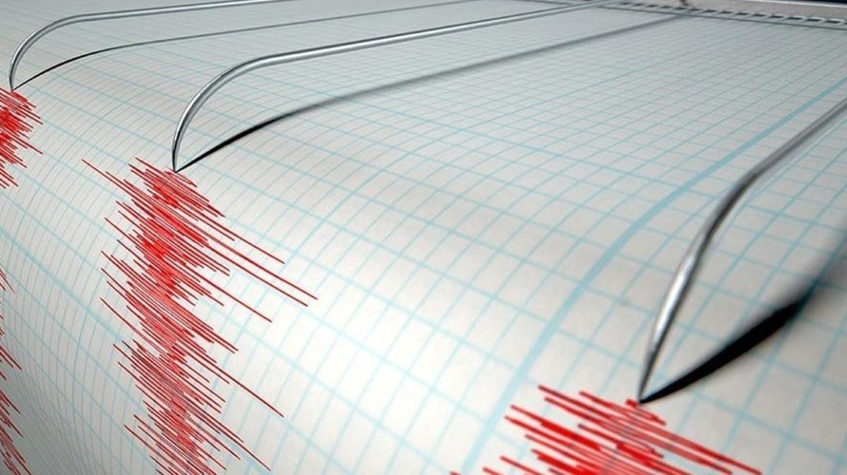 Muğla'nın Marmaris ilçesi açıklarında korkutan deprem
