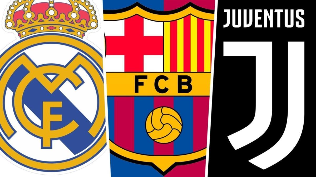 Real Madrid, Barcelona ve Juventus şimdilik yırttı