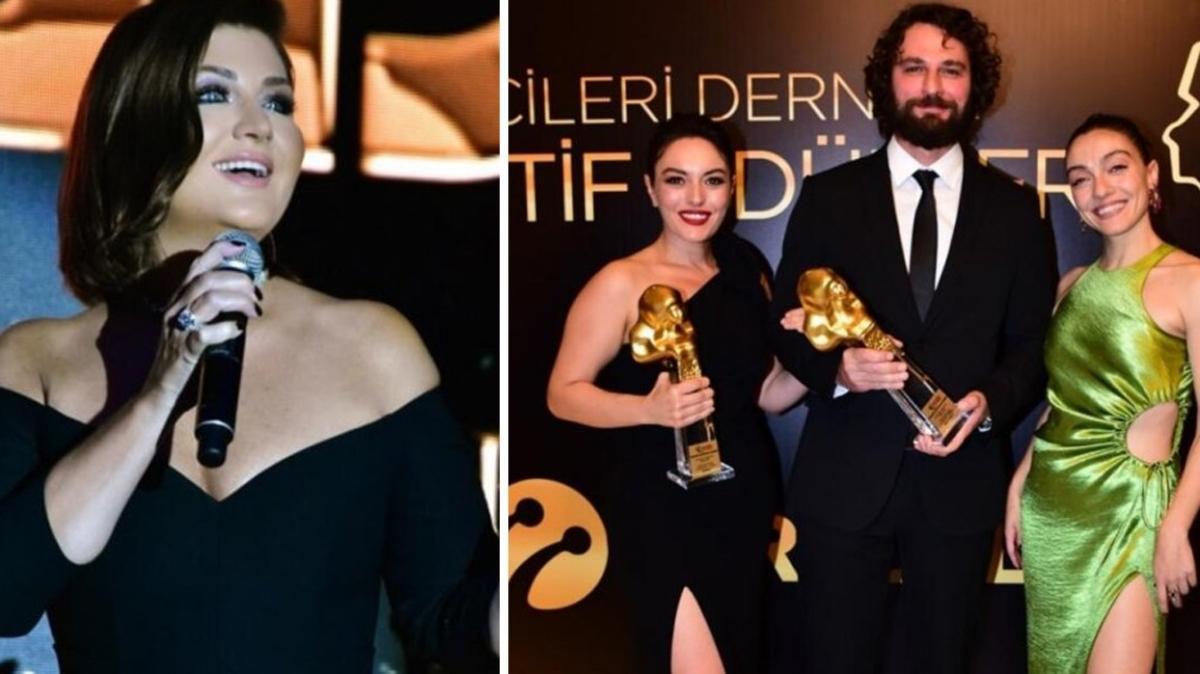 Sibel Can, Ezgi Mola, Birkan Sokullu... Altın Objektif Ödülleri dağıtıldı