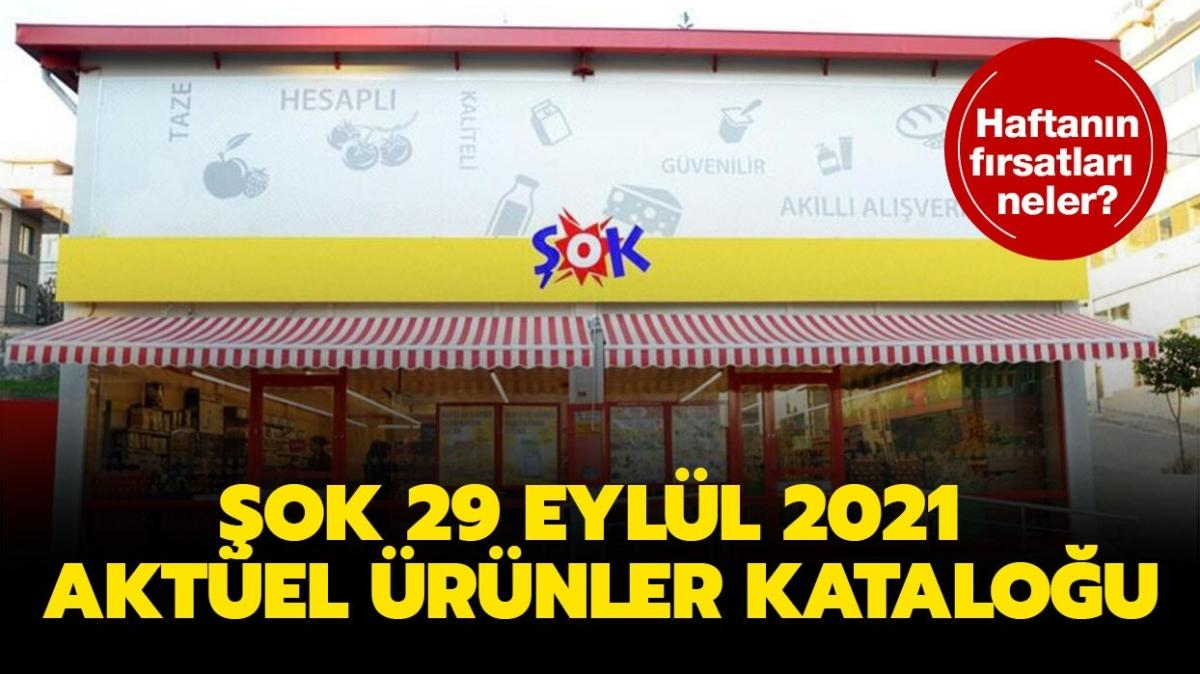 """ŞOK 29 Eylül 2021 aktüel ürünler kataloğu burada! ŞOK markete yarın neler geliyor"""""""