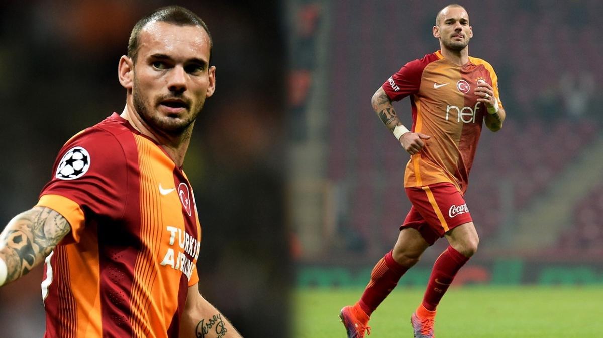 Wesley Sneijder'den Beşiktaşlıları çok kızdıracak sözler! Ajax maçında...