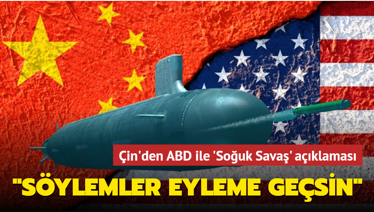 """Çin BM Daimi Temsilcisi: """"ABD'nin 'Çin ile soğuk savaş yok' tutumunu eyleme geçirmesini umuyoruz"""""""