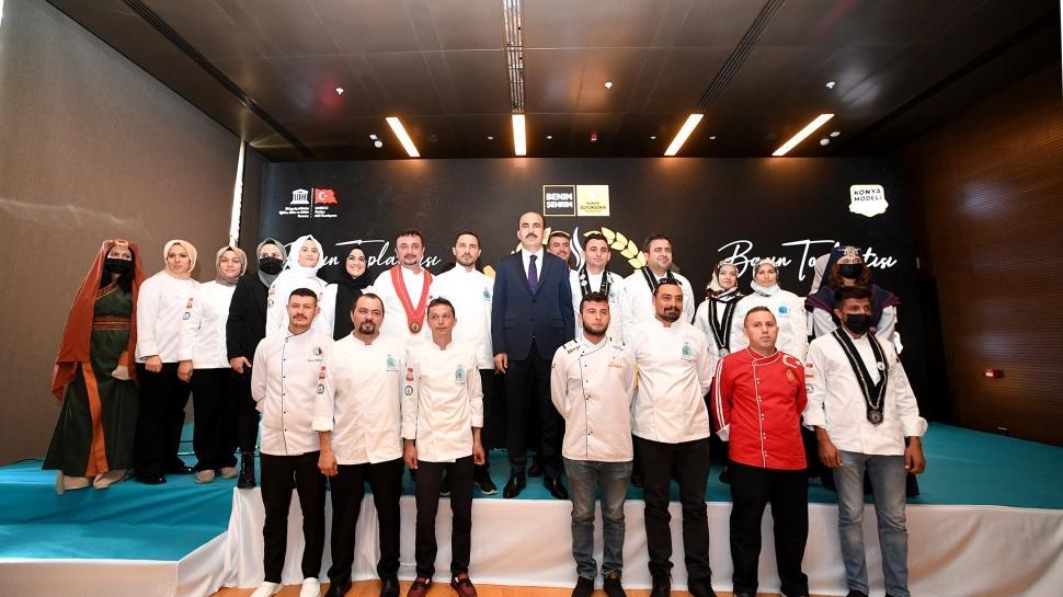 Konya GastroFest 1-3 Ekim'de... Konya'nın Kadim Yemek Kültürü Dünyaya Tanıtılıyor