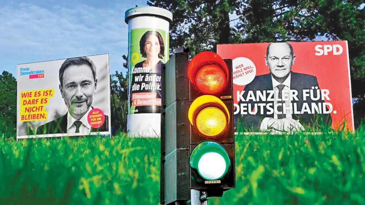 Almanlar trafik ışığı koalisyonunu istiyor