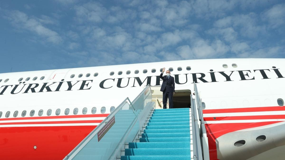 Başkan Erdoğan, Rusya'nın Soçi kentine gitti