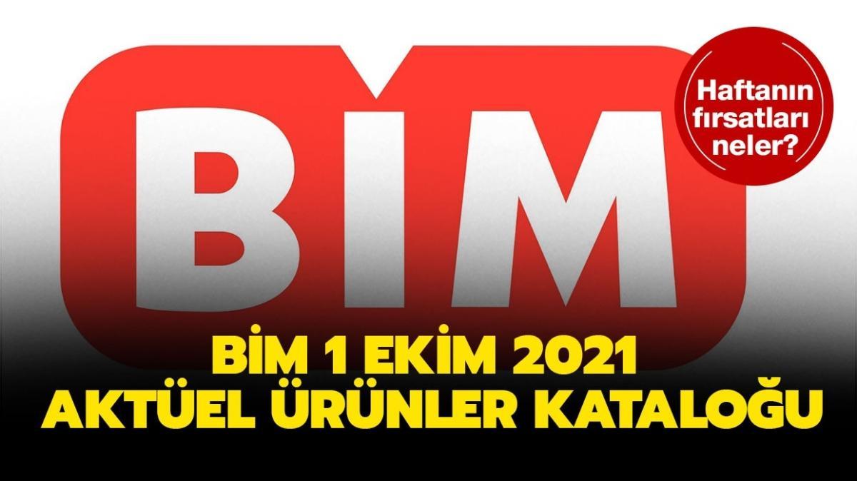 """BİM 1 Ekim 2021 aktüel ürünler kataloğu yine dopdolu! BİM markete bugün neler geliyor"""""""