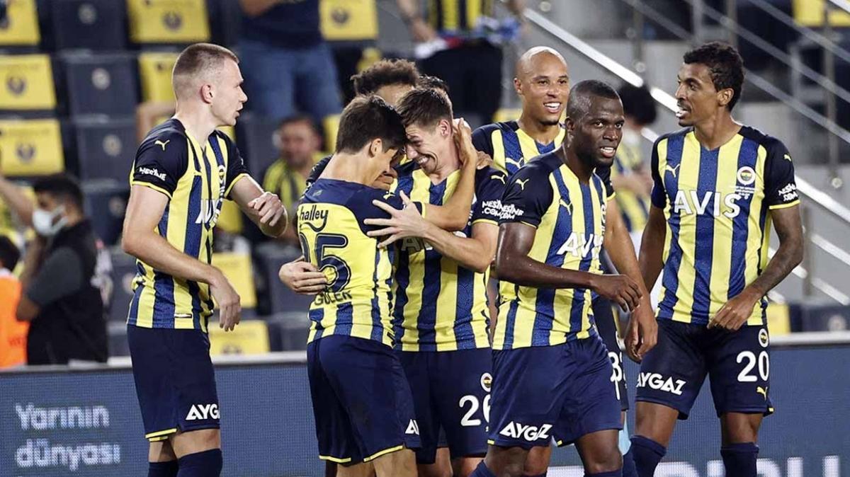 Fenerbahçe'ye sakatlardan iyi haber geldi