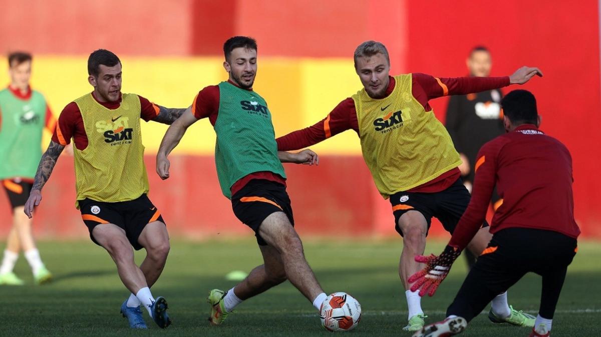 Galatasaray'da Marsilya maçı hazırlıkları tamamlandı