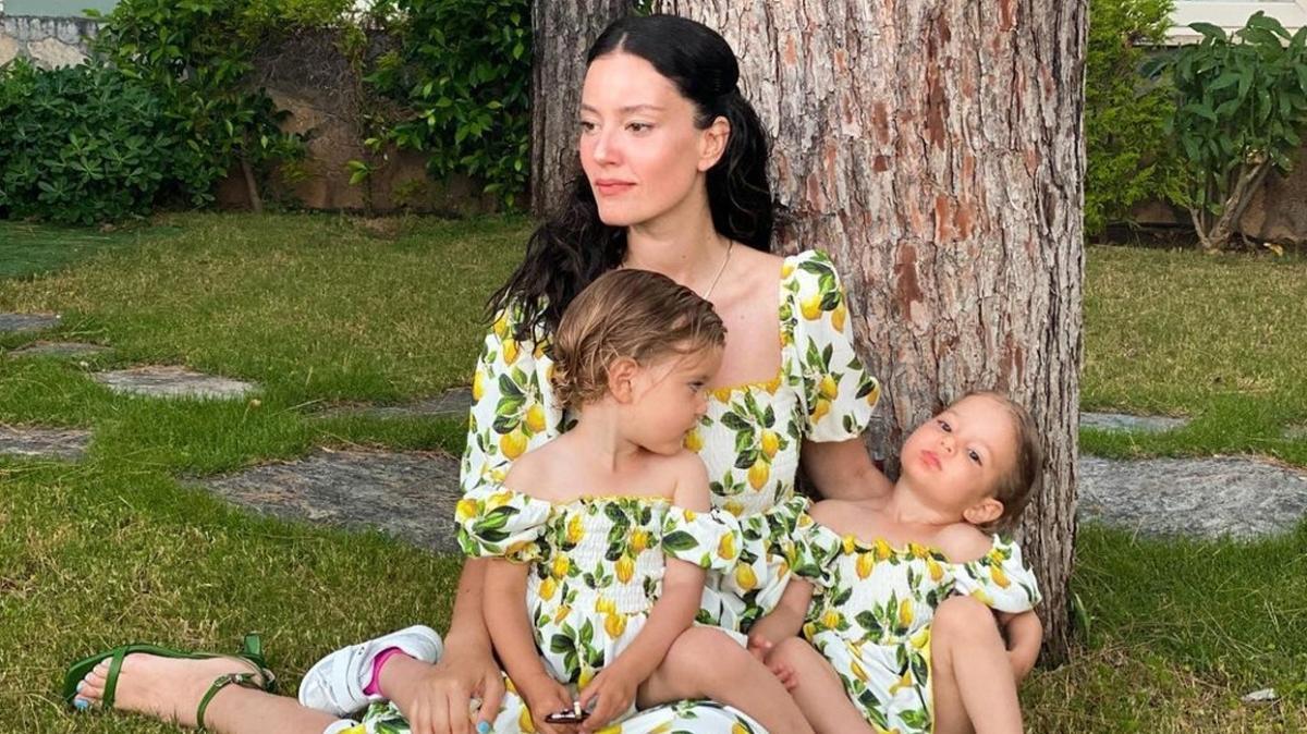 Pelin Akil ve kızlarının en çok beğeni alan 3 fotoğrafı