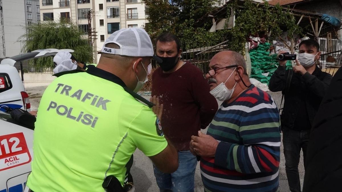 Polis müdüründen ışık ihlali yapan sürücüye: Amacımız ceza kesmek değil