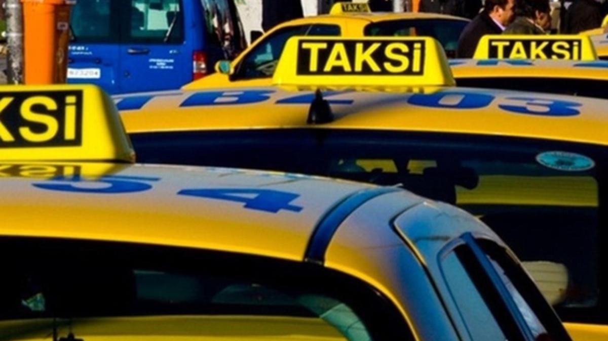 Taksiciler İBB'nin kararını yargıya taşıdı