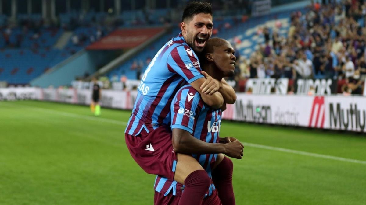 Trabzonspor'da 14 golün 10'unda bu üçlünün imzası var